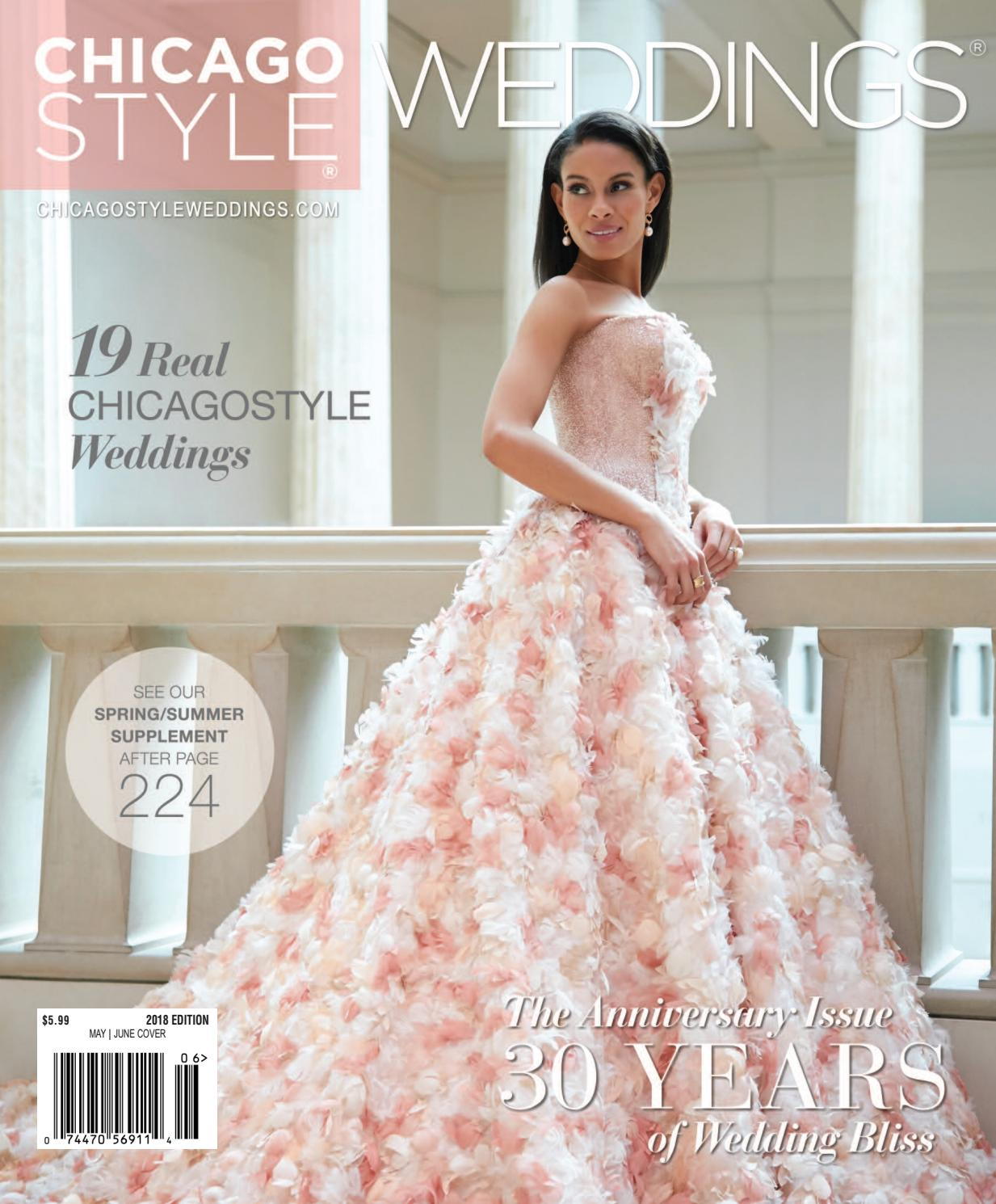Chicagostyle Weddings 2018 With Spring Summer Supplement By