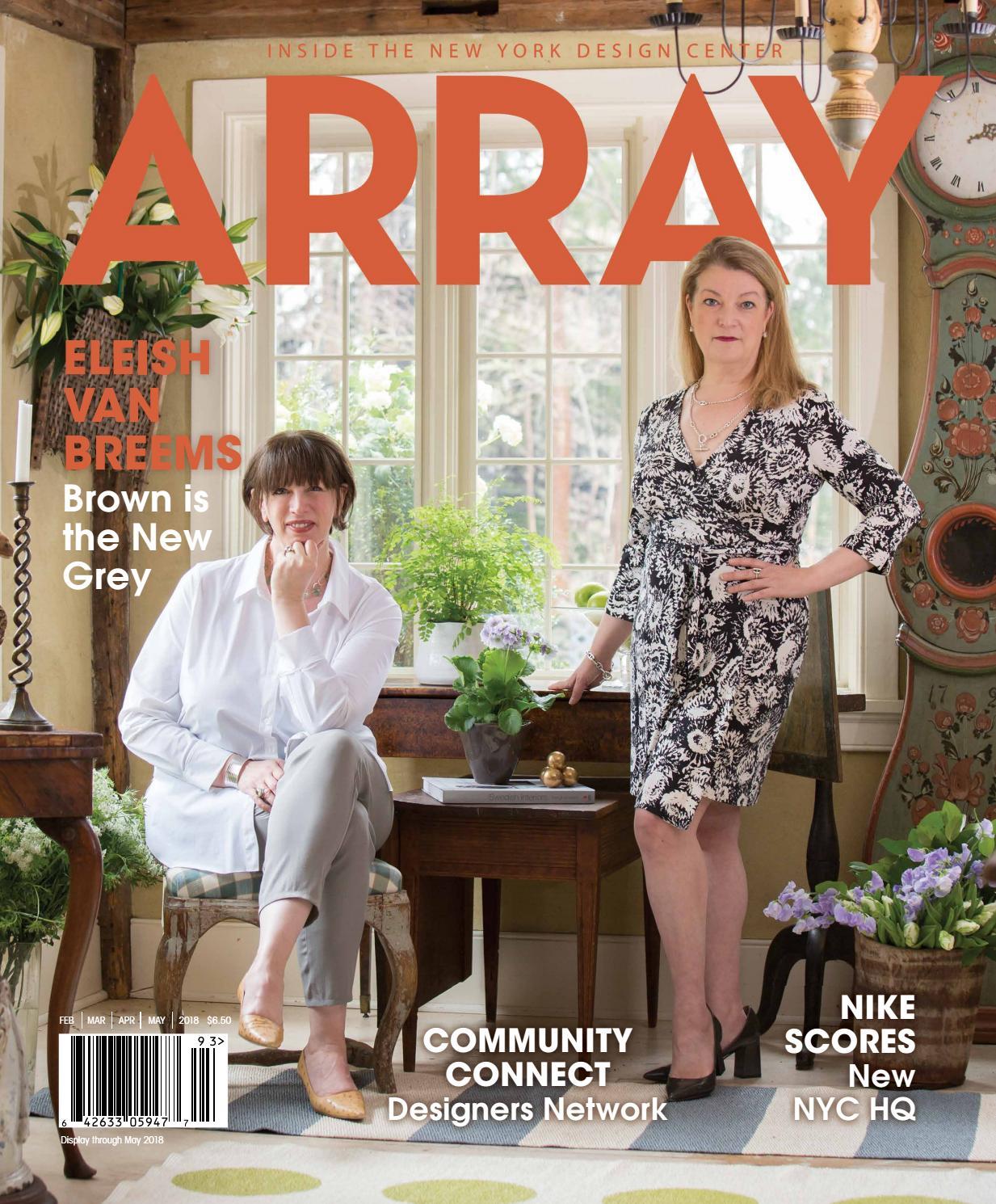 Array Spring 2018 by Array Magazine, Inc - issuu