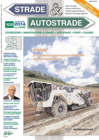 S A 105 Maggio Giugno 2014 by Strade Autostrade - EDI-CEM Srl - issuu 5ff9831b862a