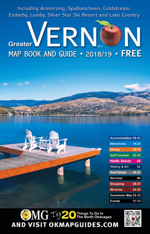 2018vernonguide By Okanagan Map Guides