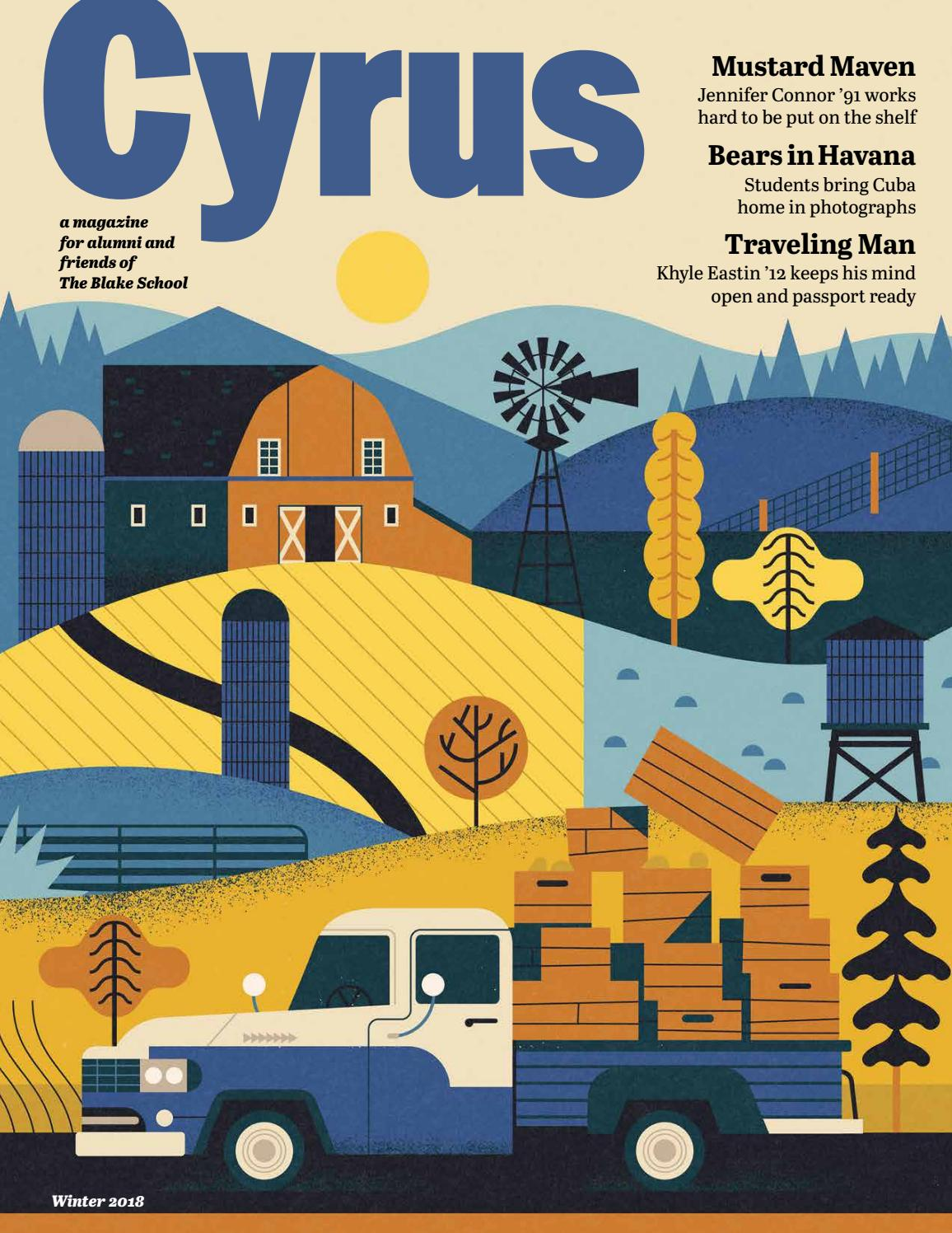 Cyrus Winter 2018 (Issue 7) by The Blake School - issuu
