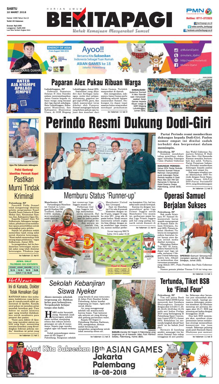 Sabtu 10 Maret 2018 By Beritapagi Issuu Tusuk Gigi Eceran Restoran