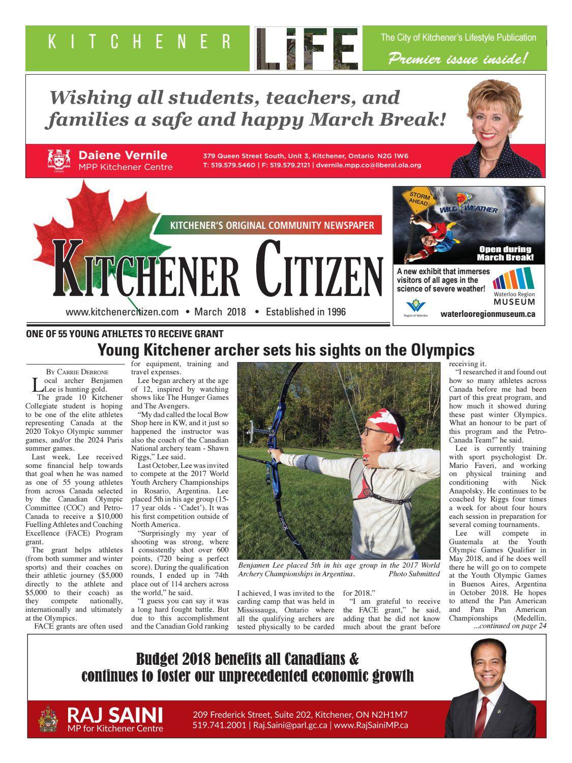 Kitchener Citizen - March 2018 by Kitchener Citizen - issuu