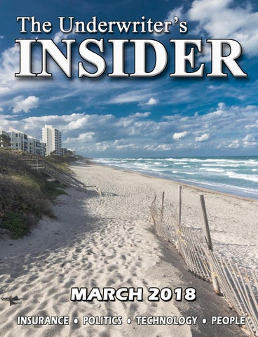 The Underwriter's Insider March 2018 by The Underwriter's Insider
