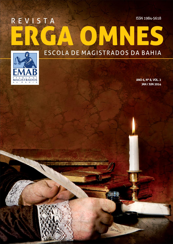 cd03db5ecffa1 Revista Erga Omnes 08 Vol 02 by AMAB   EMAB - issuu