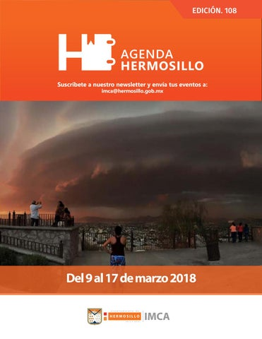 "Cover of ""Agenda Hrmosillo 09 Mar 2018"""