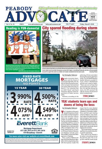 THE PEABODY ADVOCATE – Friday, March 9, 2018