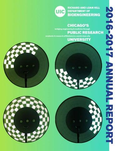 UIC Bioengineering Annual Report 2017 by UIC College of