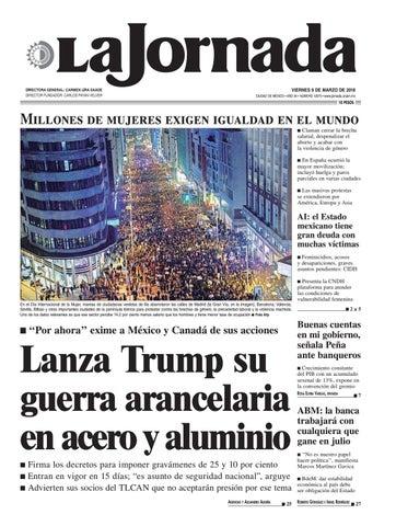 the best attitude 01f05 24b02 La Jornada, 03 09 2018 by La Jornada  DEMOS Desarrollo de Medios SA ...