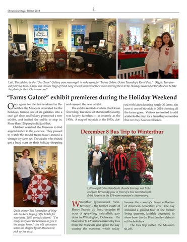 """Page 2 of """"Farms Galore"""" exhibit premieres during the Holiday Weekend"""
