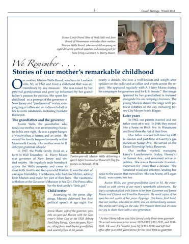 Page 5 of Stories of our mother's remarkable childhood
