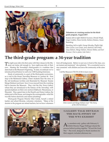 Page 6 of The third-grade program: a 34-year tradition