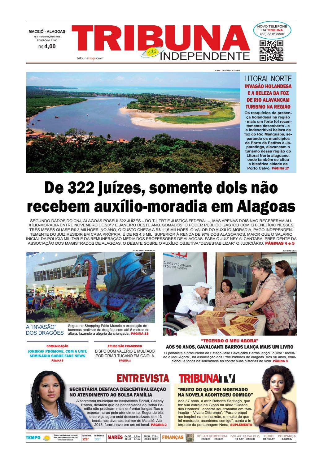 f7b268e764103 Edição número 3100 - 10 e 11 de março de 2018 by Tribuna Hoje - issuu