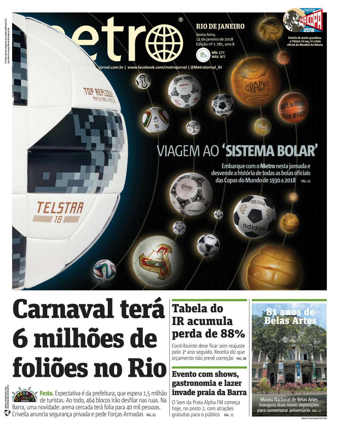 Jornal Metrô Rio de Janeiro Nº 1781 by Portal Academia do Samba - issuu 0507261831cc9