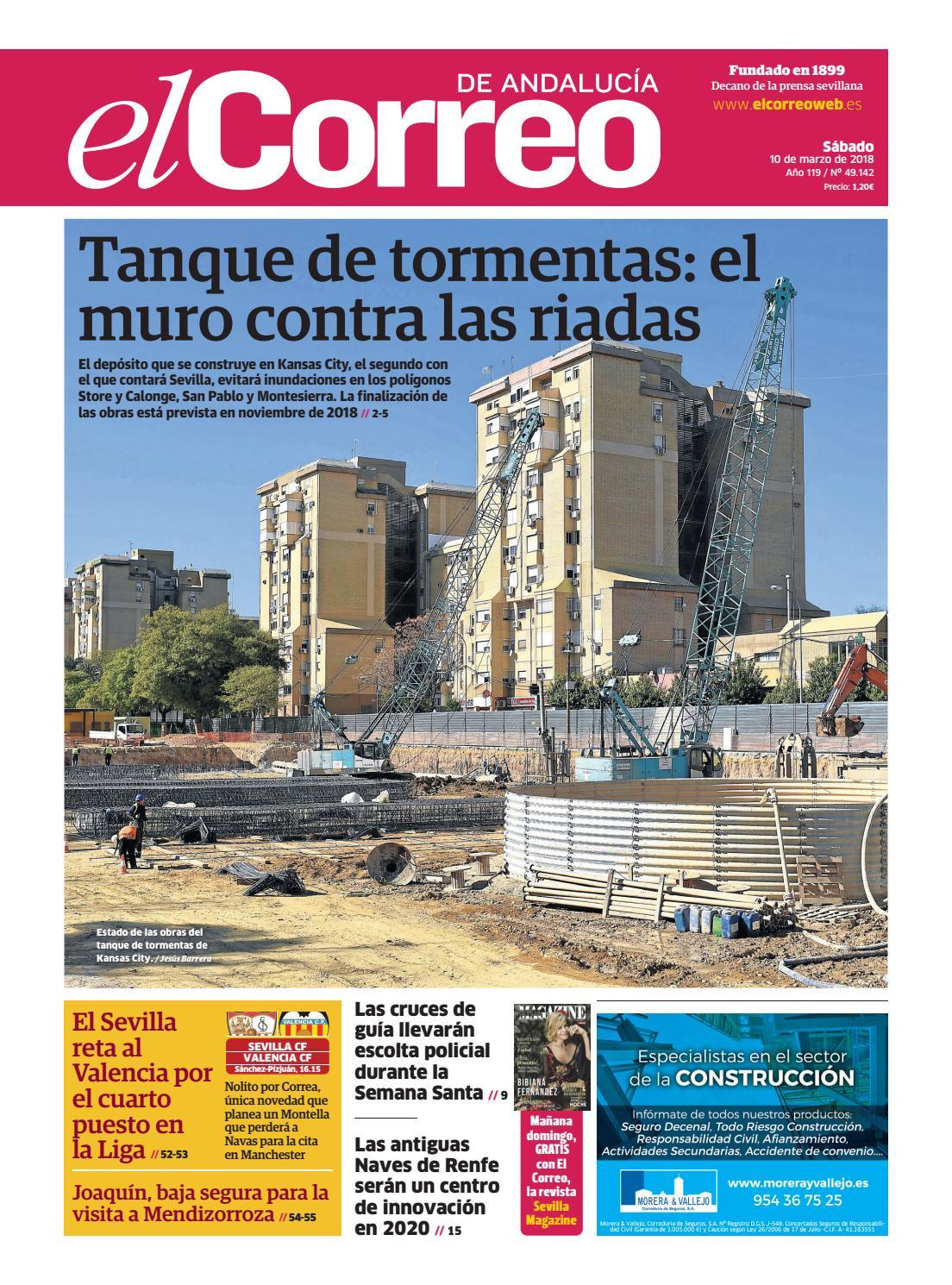10.03.2018 El Correo de Andalucía by EL CORREO DE ANDALUCÍA S.L. - issuu