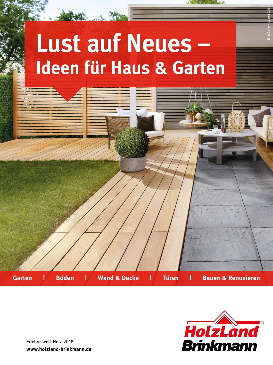 HolzLand Brinkmann 2018 by Kaiser Design - issuu