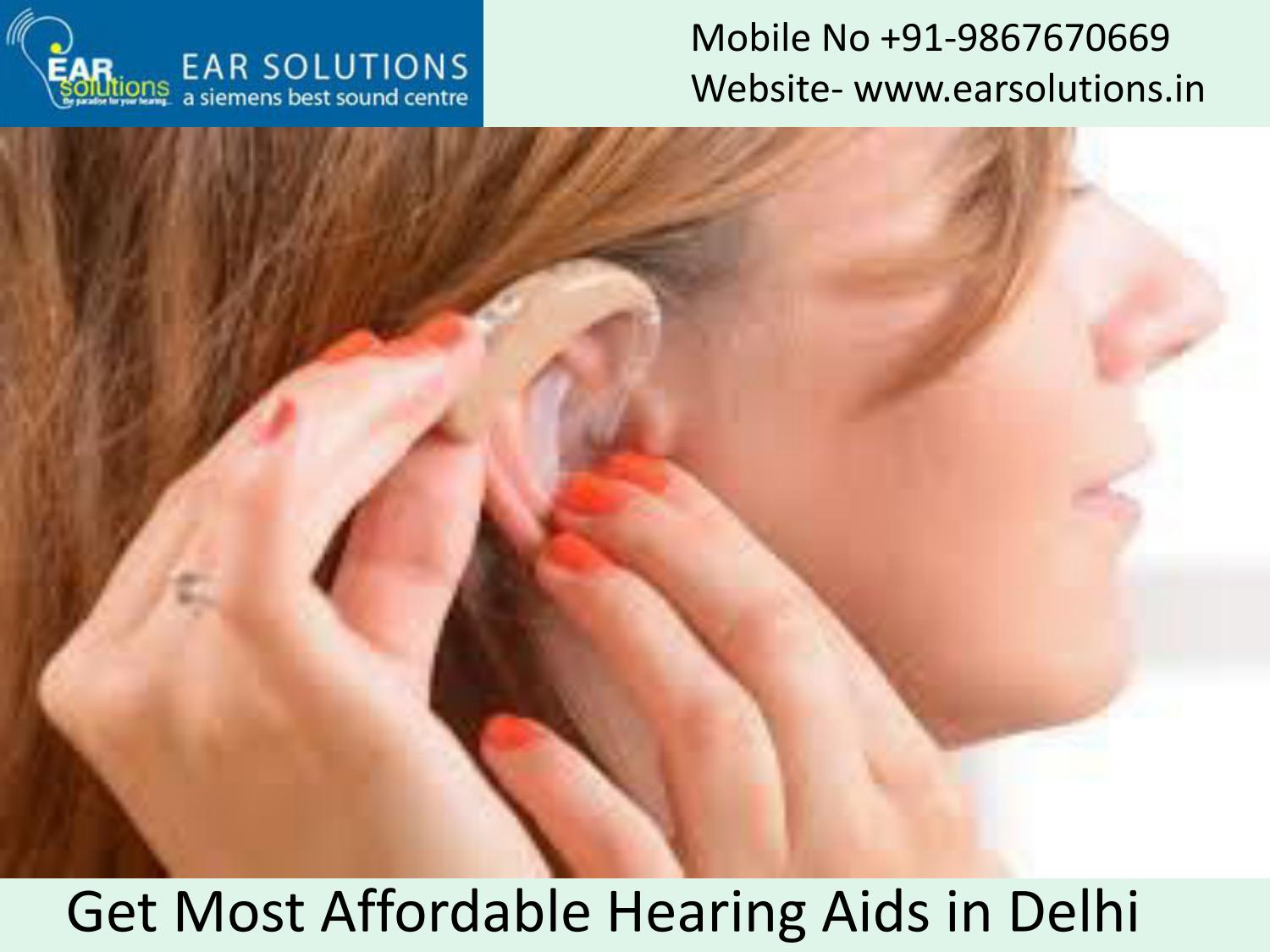 Affordable Hearing Aids >> Get Most Affordable Hearing Aids In Delhi By Anjalisen11 Issuu