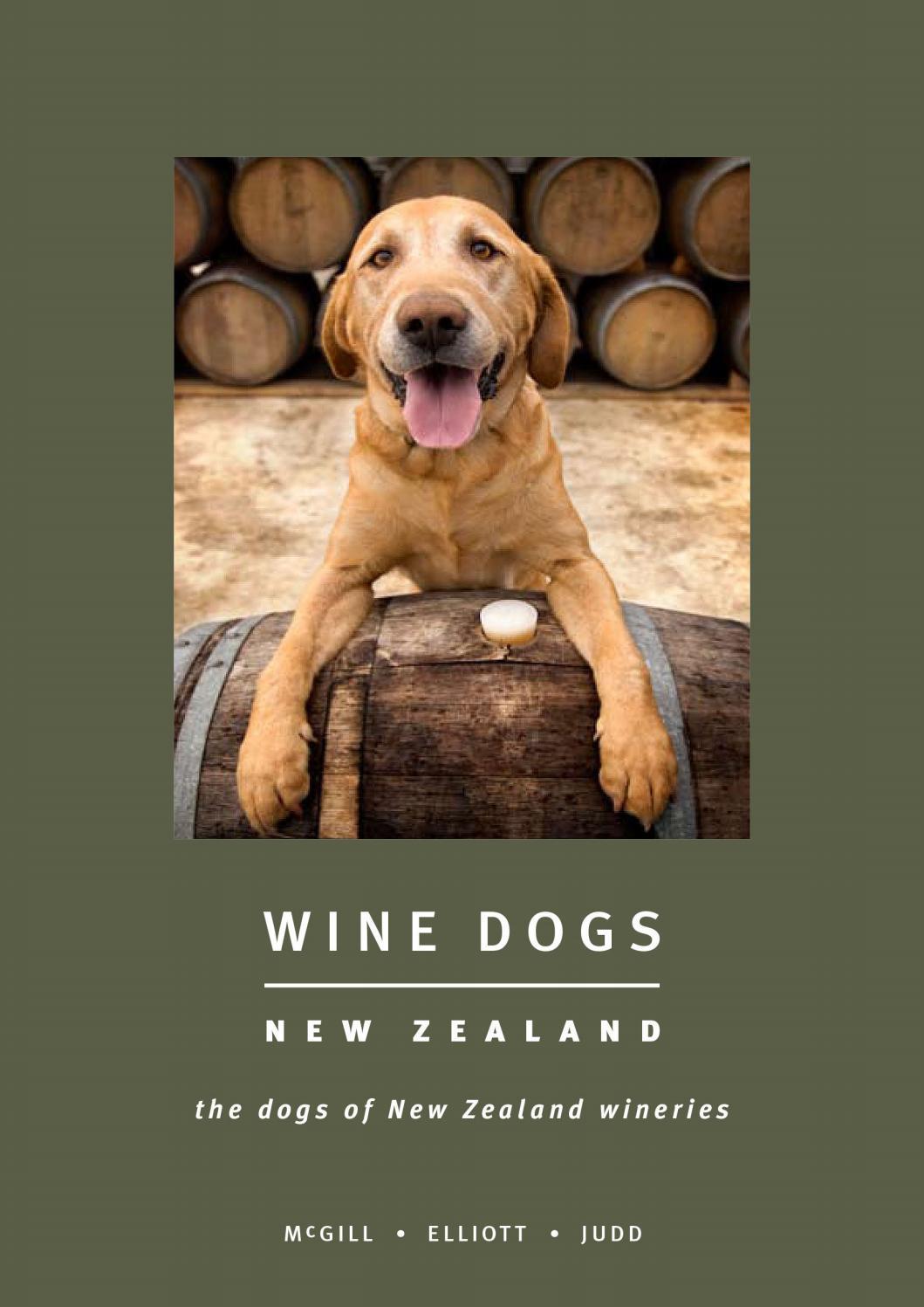 Wine Dogs NZ - 1 : McGill Elliott Judd by Kevin Judd - issuu