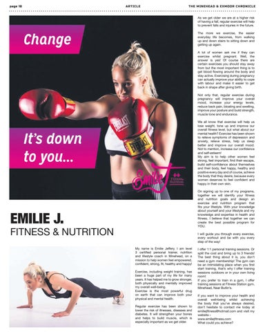 Page 18 of Health and Fitness