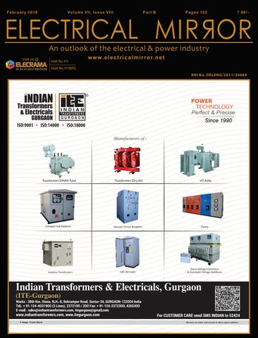 Electrical Mirror February 2018 Part (B) Issue by Icon Media
