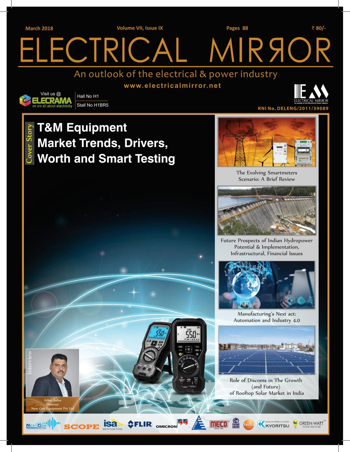 Electrical Mirror March 2018 Issue By Icon Media Group Issuu Digital Clamp Meter Ac Kyoritsu 2027 True Rms