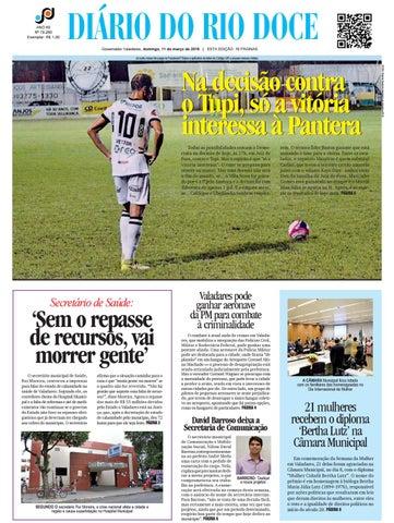 Diário do Rio Doce - Edição de 11 03 2018 by Diário do Rio Doce - issuu a6ad3b132314d