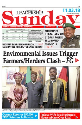 e957d918f1d11 Leadership Epaper 11th march 2018 by Leadership Newspapers Nigeria ...