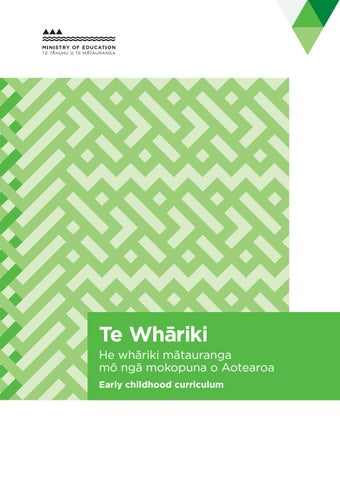 Te whariki early childhood curriculum by michelle issuu page 1 malvernweather Image collections