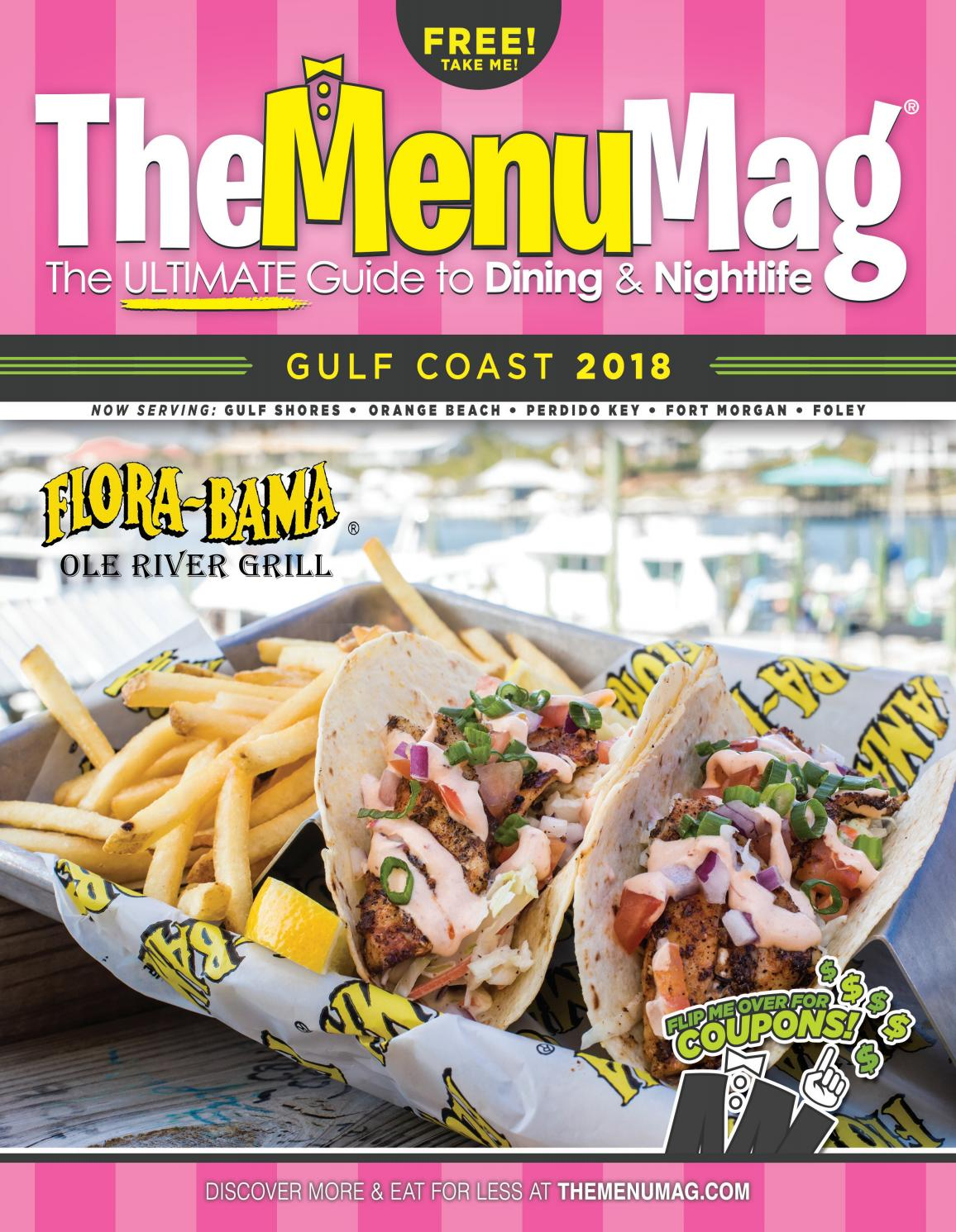 photo relating to Gulf Shores Printable Coupons identify The Menu Mag: Gulf Coastline Version 2018 by way of The Menu Mag - issuu
