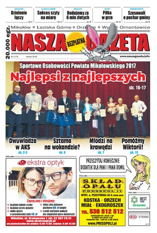 08c1341d42cf94 Nasza Gazeta nr 73 - 3/2018 by F-PRESS - issuu