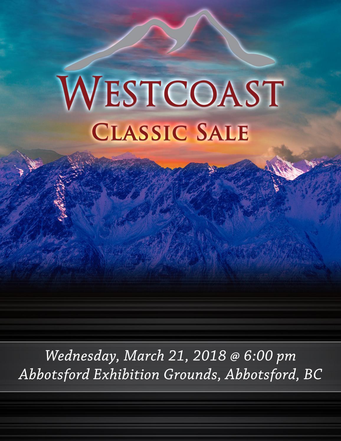 Westcoast Classic Sale 2018 by Cowsmopolitan - issuu