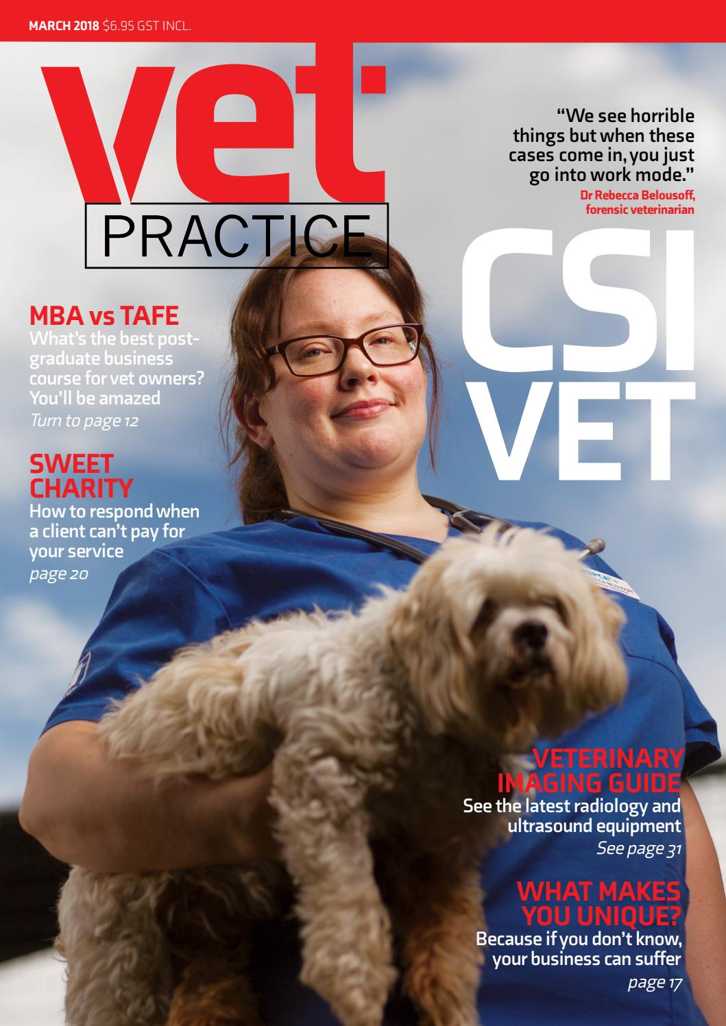 Vet Practice March 2018 By Engage Media Issuu