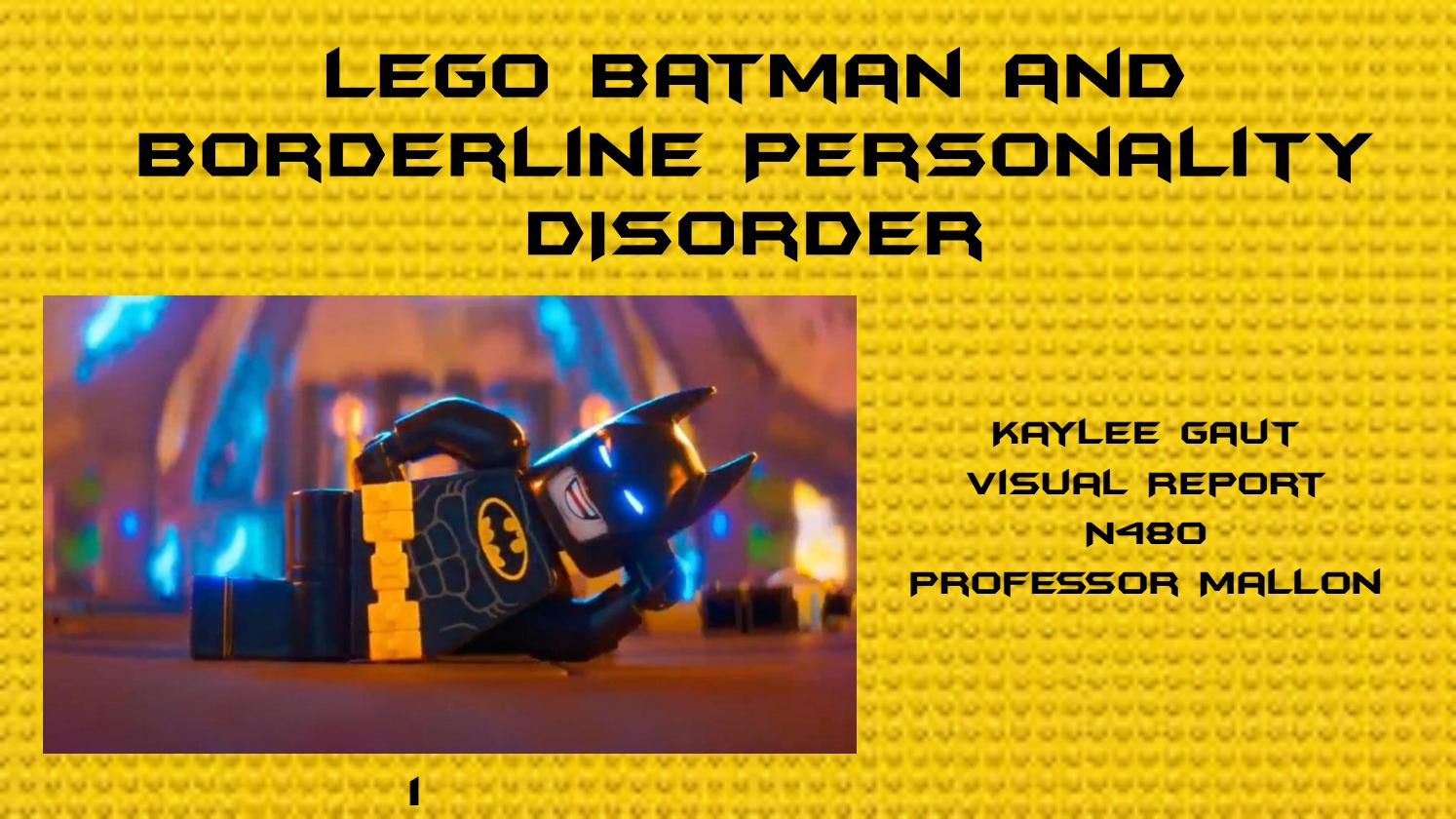 Lego Batman and BPD