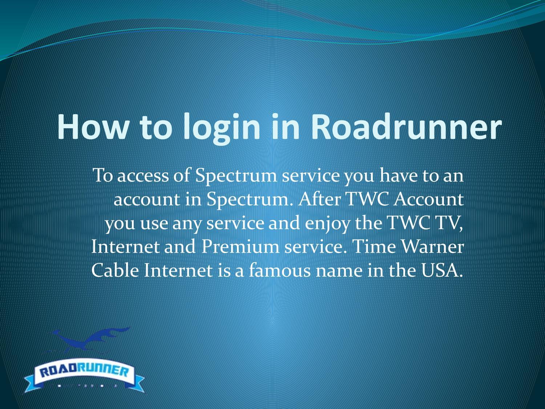 How to login in roadrunner by jkbshivam - issuu