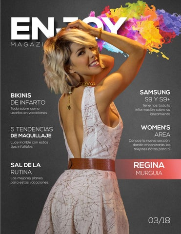 bb4eebdac Enjoy Magazine   Marzo2018 by Enjoy Magazine - issuu