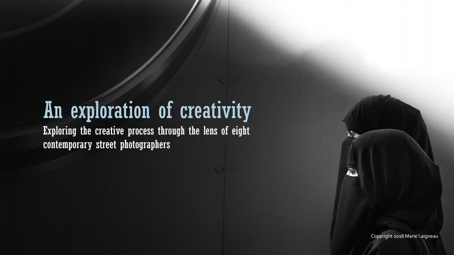 An exploration of creativity by Marie Laigneau