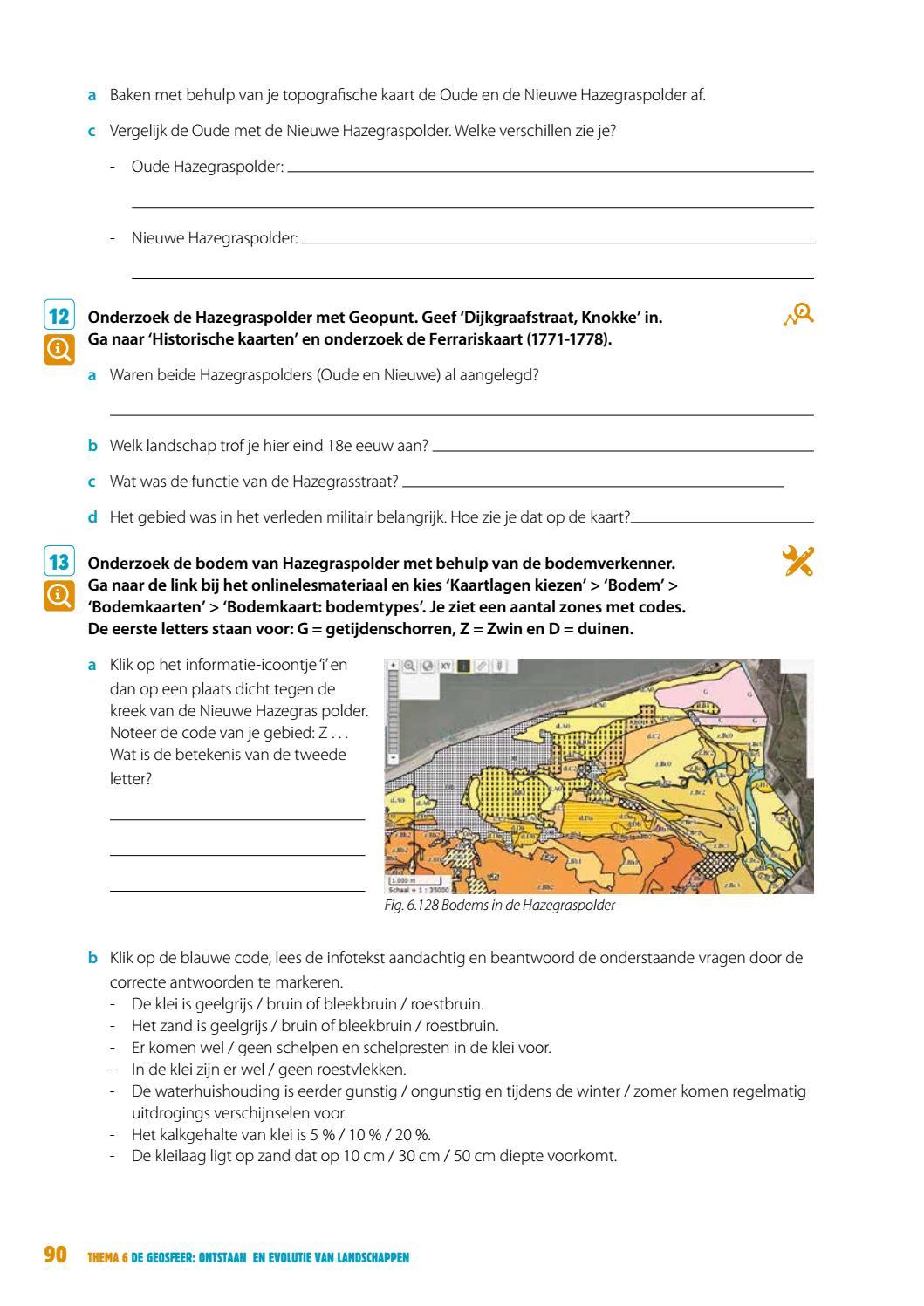 Geogeniegeonatura 6 Thema 6 By Van In Issuu