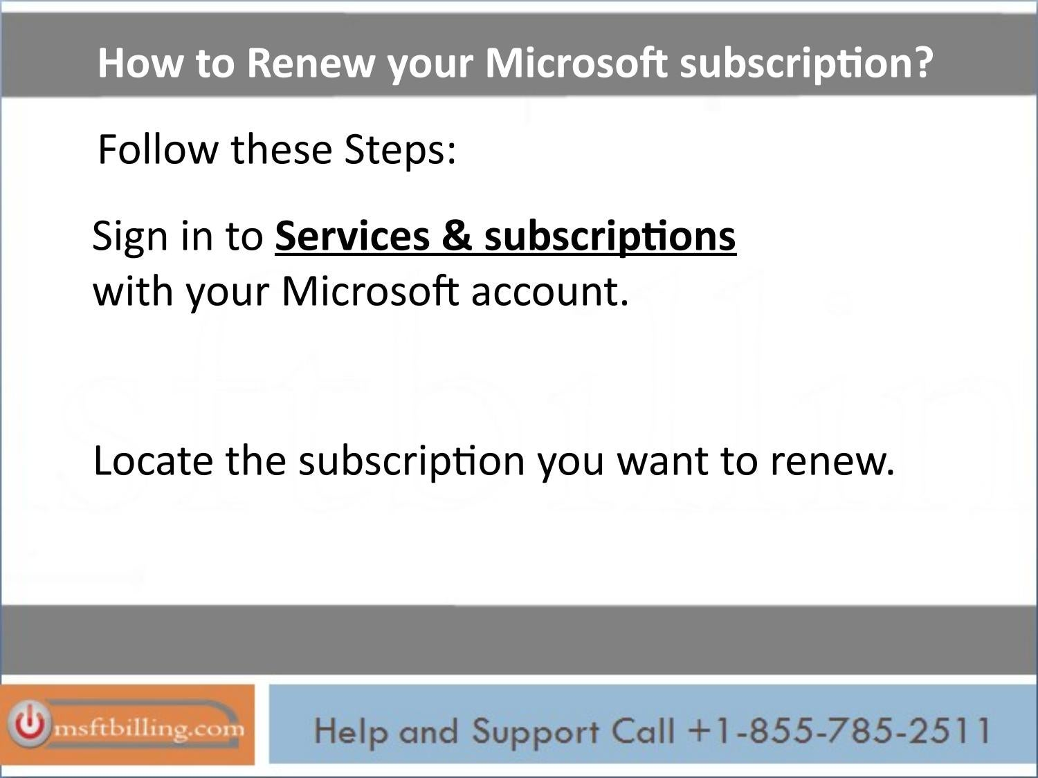 Msn subscription support, call 1 855 785 2511 by David James - issuu