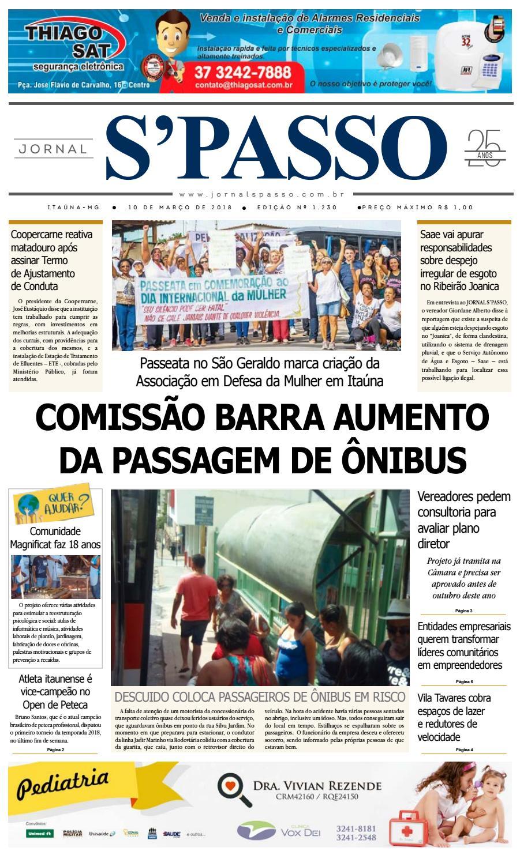 Jornal S Passo - Edição 1230 by Jornal S passo Oficial - issuu d0dd5be429e57