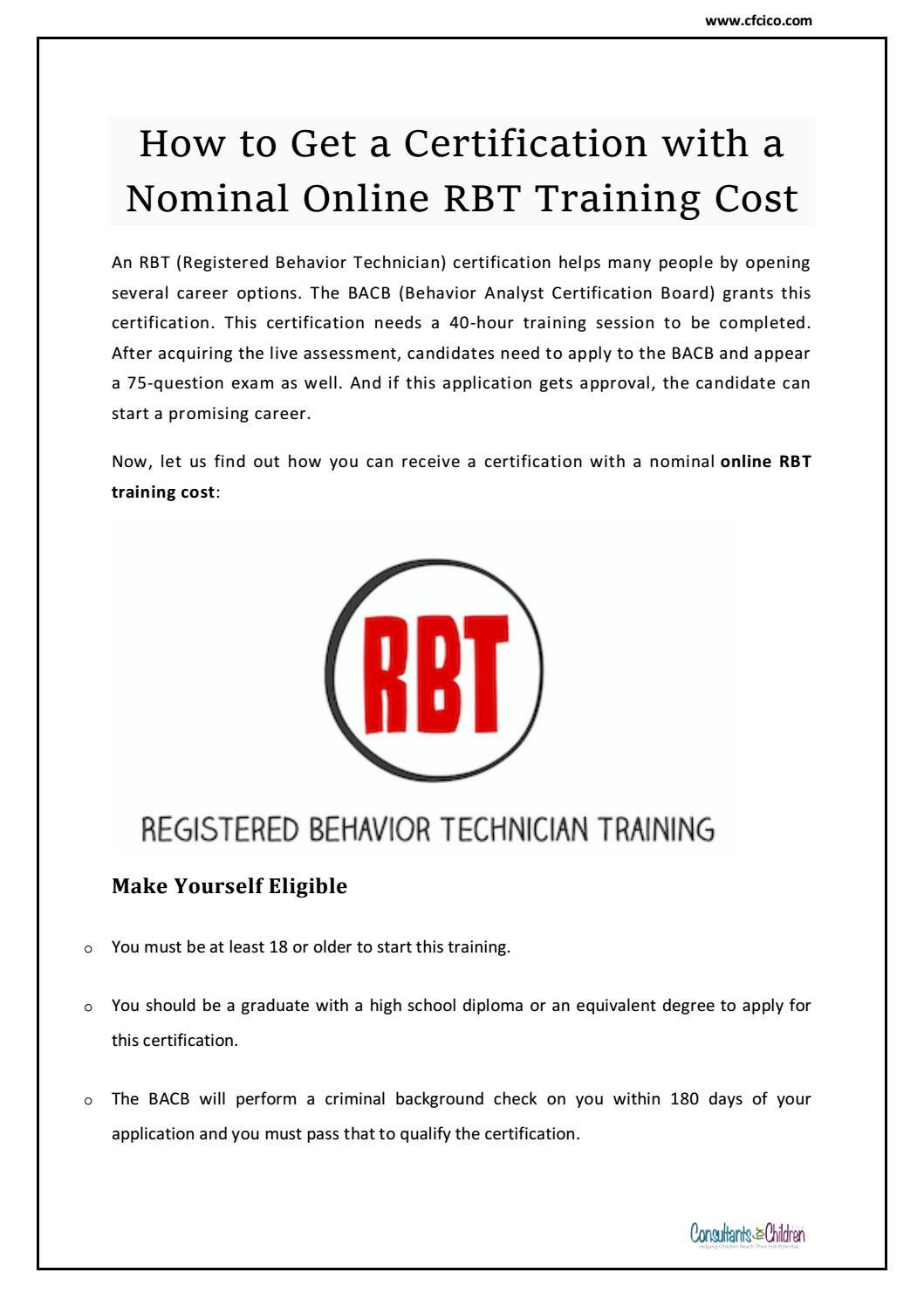 Certified Behavior Analyst Jobs Consultants For Children Inc By