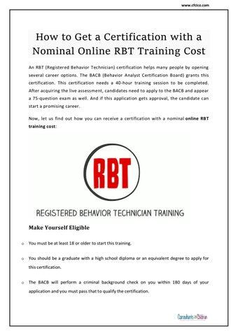 Certified Behavior Analyst Jobs | Consultants for Children, Inc. by ...