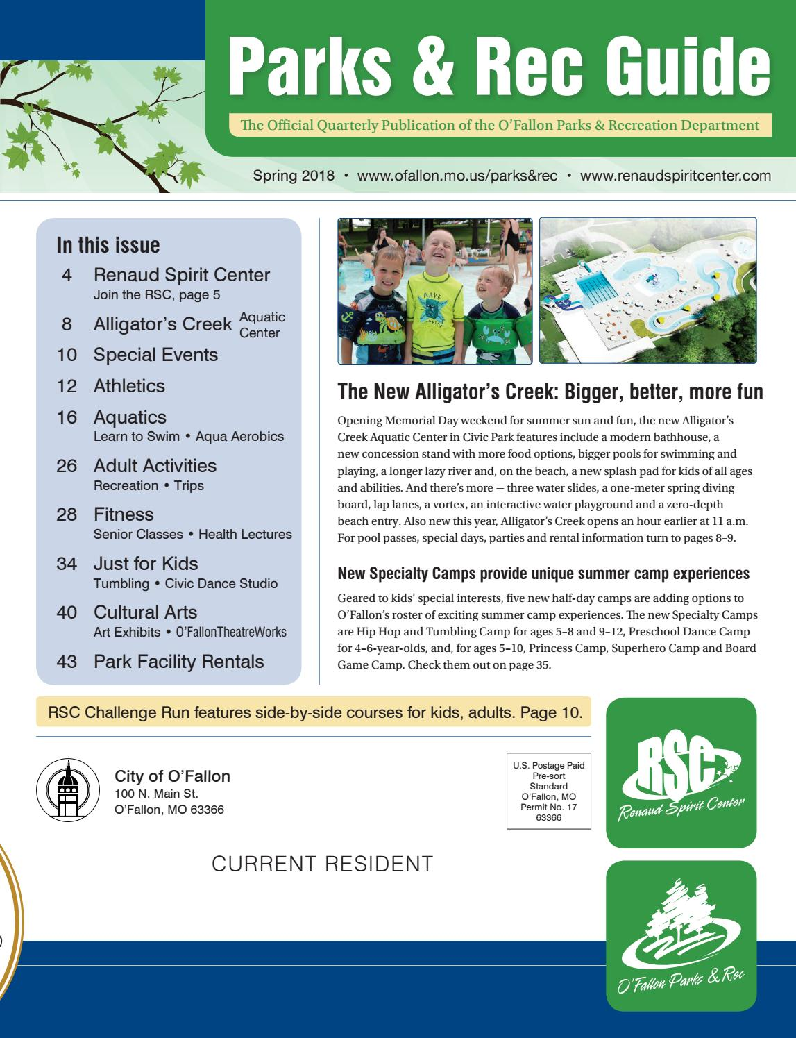 o'fallon parks and rec guide – spring 2018 by city of o'fallon - issuu