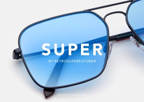09546d3d7b Super by Retrosuperfuture sunglasses SS 2018 by Playground ...