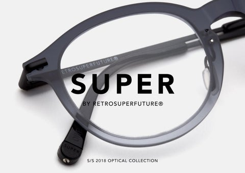 8bc23031ce6d Super by Retrosuperfuture SS 2018 optical collection by Playground ...