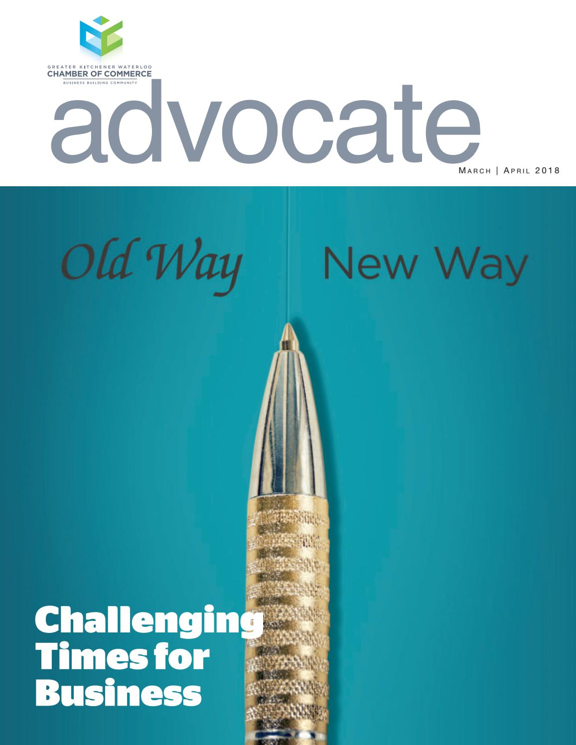 March/April 2018 Advocate by Natalie Hemmerich - issuu