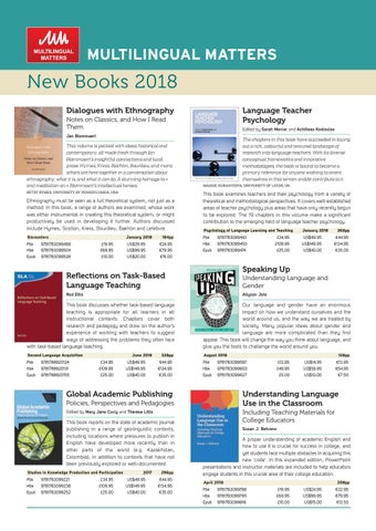 Multilingual matters new books leaflet 2018 by channel view page 1 fandeluxe Image collections