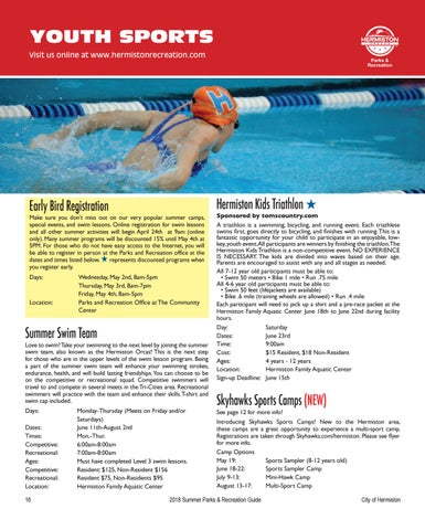 Page 18 of Youth Programs