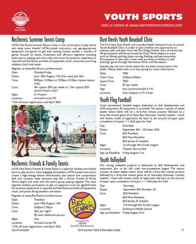 Page 19 of Youth Programs