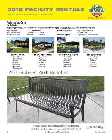 Page 44 of Facility Rentals