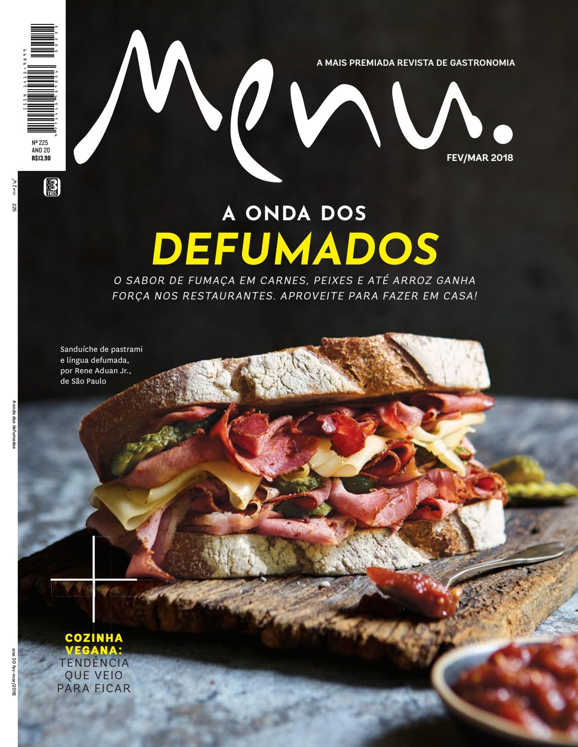 9d23d6e0d81 Menu 225 by Editora 3 - issuu